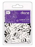"Diane 1.75"" Double Prong Slide-in Clips - 10 Pack - MODEL D19"